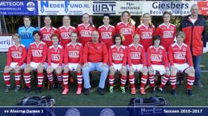 Alverna dames1 2016-2017